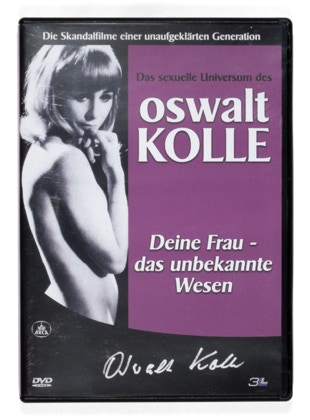 DVD of Herbert Stattler's reserve shelf, a collection of sex education books and related literature since 1904.